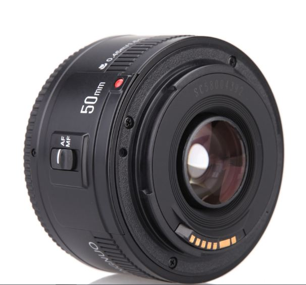 F1.8 Lens YN50mm F1.8 II Lens EF 50mm for Canon Large Aperture Auto Focus Lenses