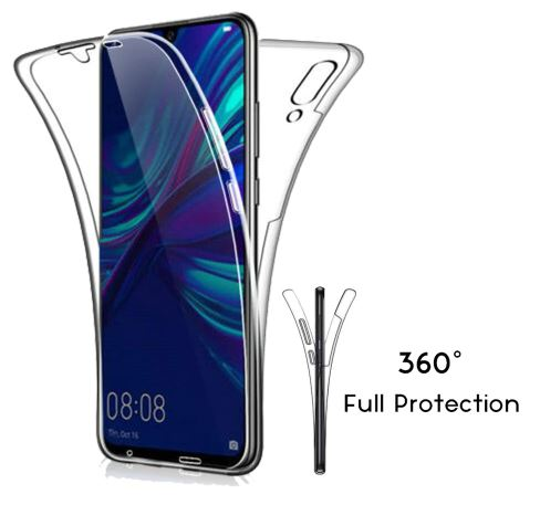 Soft Luxury 360 Full Coverage for Huawei P30 P20 P10 P9 Lite Companion 20 10 Smart Pro P 2019 Clear Crystal Case TPU Silicone Gel Cover