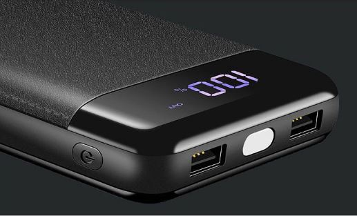 External Battery PoverBank 2 LED USB Powerbank Portable Mobile Phone Charger for Xiaomi iphone Huawei