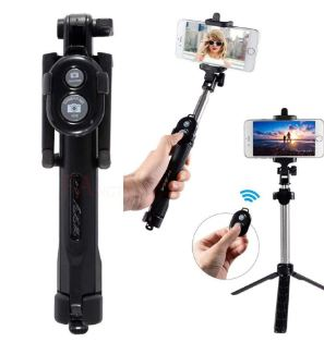 Wireless Bluetooth Selfie Stick + Mini Selfie Tripod with Remote Control for iphone X 8 7 6 s plus Portable Monopod