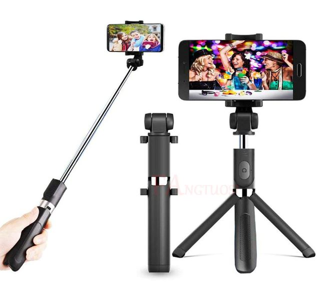 Wireless Bluetooth Selfie Stick for iPhone 8X7 6 s Plus Foldable Handheld Monopod Extendable Remote