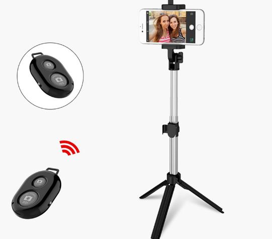 Monopod Bluetooth Selfie Stick With Selfie Rod Stick For Android For Iphone 6 7 8 Plus IOS