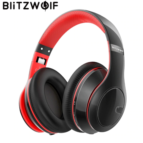 BlitzWolf Wireless bluetooth Headphones With Mic For PC,Phone,MP3