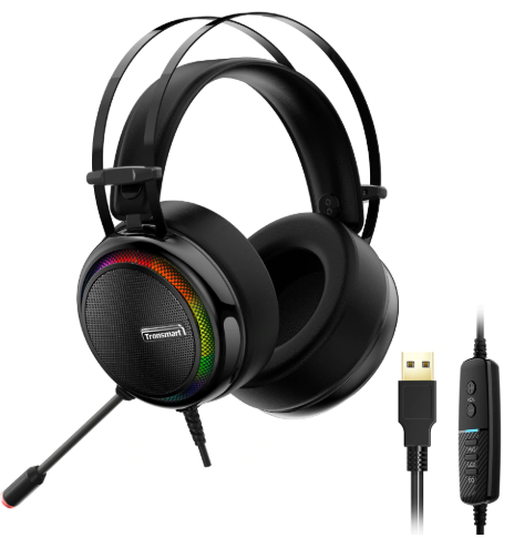 Tronsmart Glary Gaming Headset 7.1 For Mobile Phones,Computers,Laptops