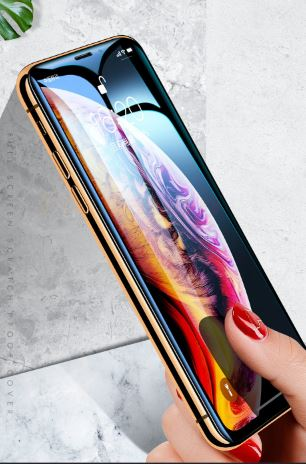 Glass on the iPhone 6 6 7 7 7 XR X XS Glass Full Cover XS Max