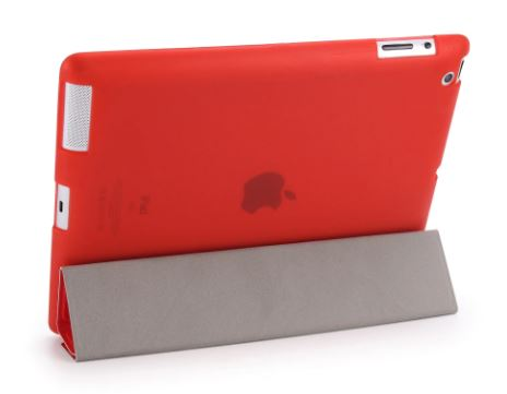 Apple ipad 2 3 4 Case, GOLP Cover for New ipad 2, Flip Case for ipad 4, Smart Cover for ipad 3, Stand Holder Case Coke