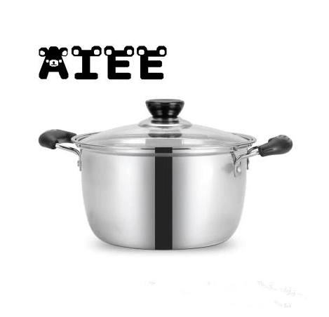 Stainless Steel Double Bottom  Soup Pot