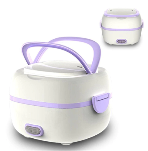 Mini Rice Cooker Portable Food Heating Steamer Heat Preservation Lunch Box
