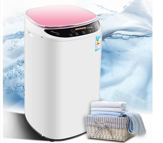 Automatic Smart Household Automatic Washing Machine Stainless Steel Internal Barrel Energy Saving Touch Panel