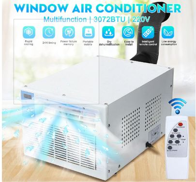 220 V 900 W IPX4  Air Conditioner Window Air Conditioner Mini Air Conditioner Household With Remote Control