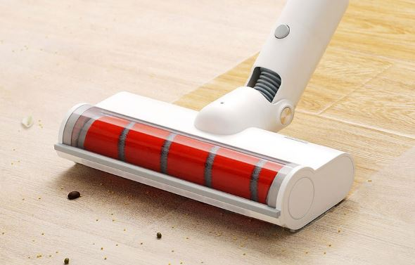 Portable Dust Collector Vacuum Cleaner for Home Low Noise Bluetooth Wi-fi LED Multifunctional Brush