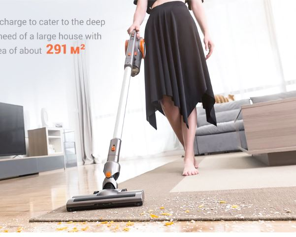 Vacuum Cleaner Large Suction Home Wireless