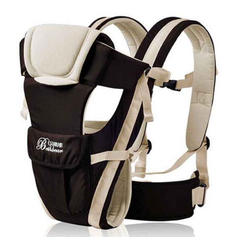 Beth Bear 0-30 Months Breathable Front Facing Baby Carrier 4 in 1 Infant Comfortable Sling Backpack