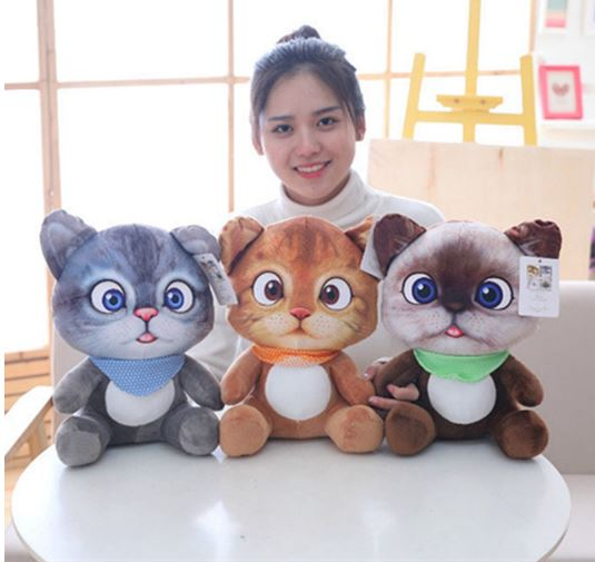 Cute Mini Cat Plush Toys Plush Toys Cartoon Cat Doll Toys Toys Children Toys Girls Gifts