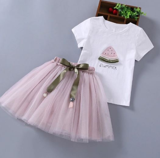 Girls Baby Girls Dress Kids Clothing Girls Clothes Girls Dresses Tops + Shorts + Skirt Clothes Kids Clothes Nina