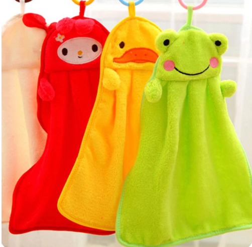 Cute Baby Nursery Rabbit Hand Towel Toddler