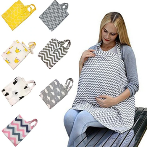 Breathable Mother Breastfeeding Cover Baby Nursing Covers