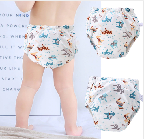 6Layer Waterproof Reusable Baby Cotton Training Pants