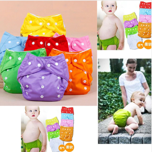 Training Pants Reusable Nappies Soft Covers Baby Cloth Diapers