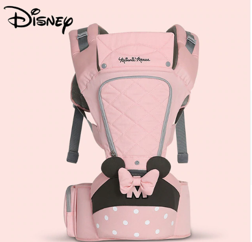 Disney 0-36 Months Bow Breathable Front Facing Baby Carrier