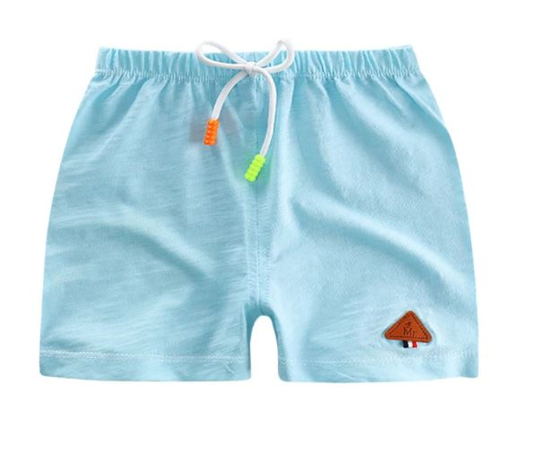 Boys Casual Summer Shorts Cotton Children Beach Wear Loose Bottom Short Pants