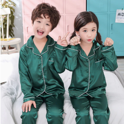 Boys pajamas spring and autumn long sleeves