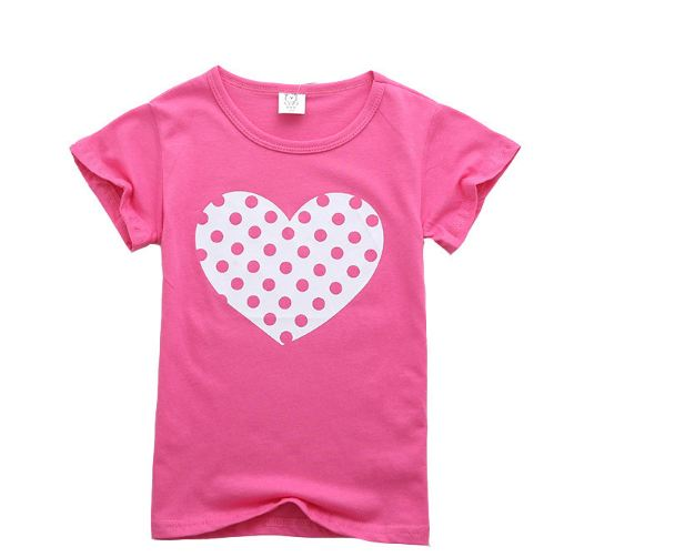 Baby T Shirt for Summer Kids  Girls T-Shirts Clothes Cotton Toddler Tops Toddler Girl Shirts