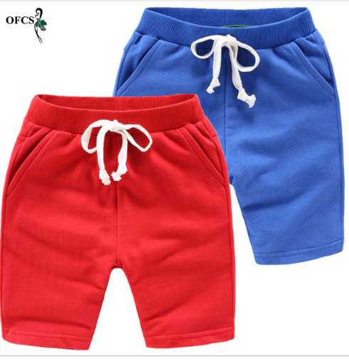 Hot Selling Solid 8 Colors Kids Trousers Children Pants For Baby Boys And Girl's