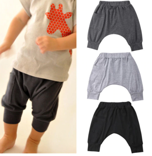 New Casual Toddler Baby Kids Boy Clothing Cotton Pants