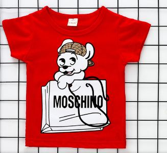 tshirt girls children's wear short-sleeved cartoon pattern boys t-shirt cotton children's t-shirt