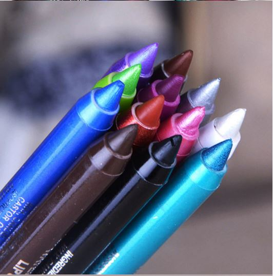 Women Long-lasting Eye Liner Pencil White Color-proof D 'Water Pen Eyeliner Pencil