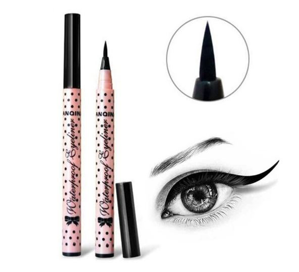 Black Long Lasting Eye Liner Pencil Waterproof Eyeliner Smudge-Proof Cosmetics Beauty Makeup Liquid Pink