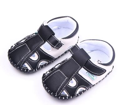PU Leather Infant Toddler Newborn Baby Boy Kid Soft Rubber Soled First Walkers Shoes Crib Babe Footwear