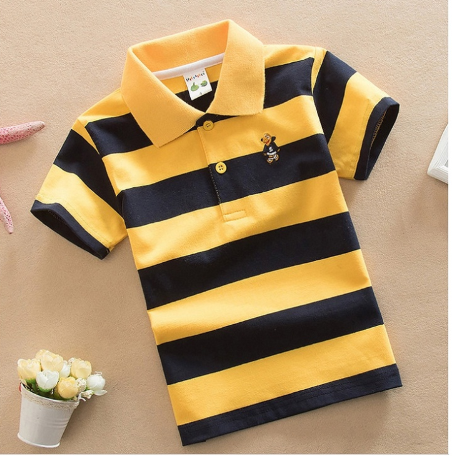 High quality 4-12 years old children polo shirt