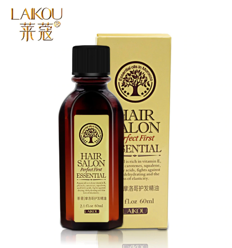 LAIKOU 60ml Conditioners Hair Care Moroccan Nourishing Essential Oil Multi-Functional Hair Care Conditioner