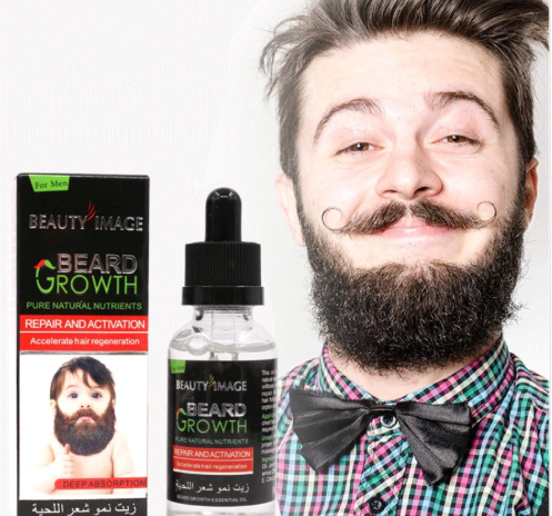 Natural Beard Growth Oil Essence Conditioners