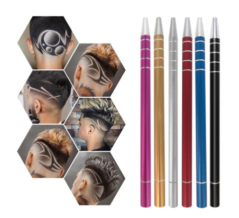 Eyebrows Shaving Hairstyle Blades Hair Styling Beauty Salon DIY Fashion Hairstyle