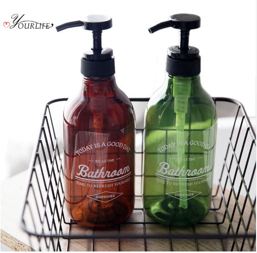 OYOURLIFE 600ml Soap Dispenser Cosmetics Bottles Bathroom Hand Sanitizer