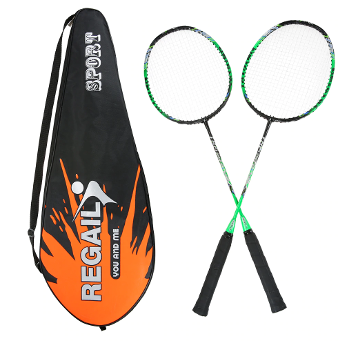 2 Player Badminton Bat Replacement Set Ultra Light Carbon Fiber Badminton Racquet
