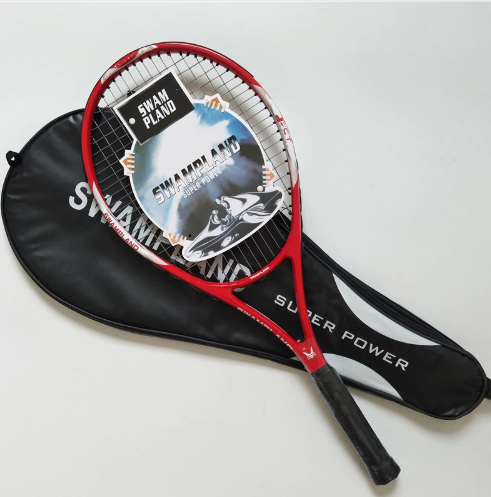 Carbon Fiber Tennis Racket Racquets Equipped with Bag Tennis Grip Size 4 1/4