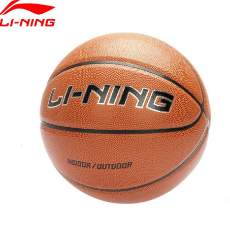 Li-Ning Basketball PU Indoor&Outdoor Li Ning Basket ball Professional Competition