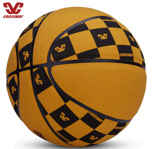 Outdoor Indoor Size 7 PU Fibre Basketball Ball