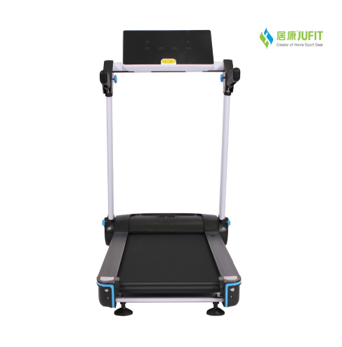 JUFIT folding powered 2hp motorized treadmill/portable treadmill