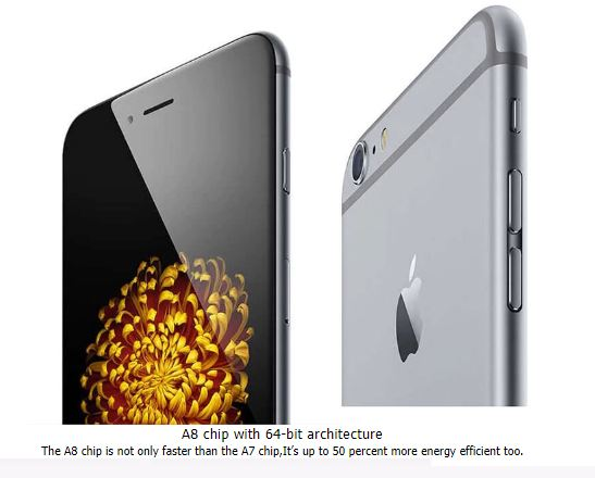 Apple Original Unlocked Apple iPhone 6 4G LTE Mobile Phone 64GB ROM 4.7 inch IOS Dual Core Touchsceen