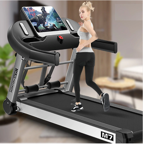 Luxury 10.1 inch family Color screen WIFI multi-function electric Treadmill