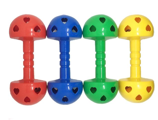 Portable Dumbbells For Kids Fitness Toys Aerobic Exercise Grip Puzzle Inflatable Ball Toys For Kids