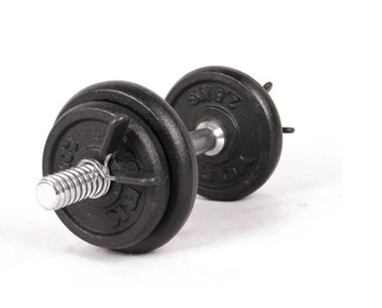 Barbell Gym Weight Lifting Bar Dumbbell Spring Lock Clamp Collar