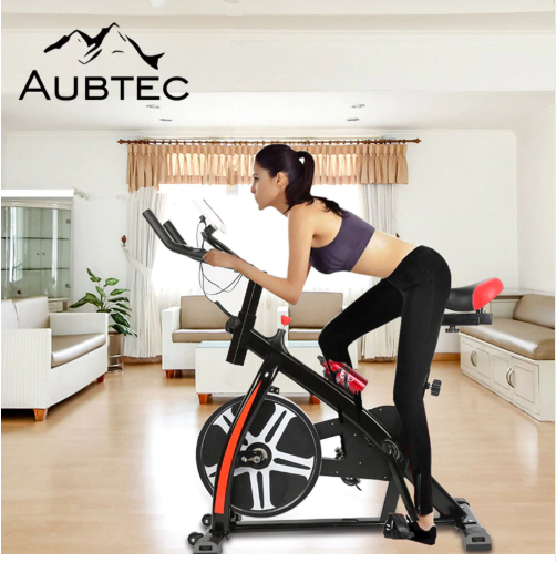 New Household Bike Training Exerciser Bicycle Mute Magnetic Stationary Exercise Indoor Fitness Cycling