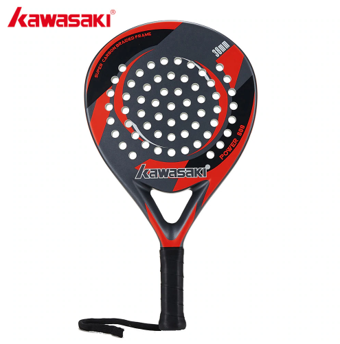 Kawasaki Brand Padel Tennis Carbon Fiber Soft EVA Face Tennis Paddle
