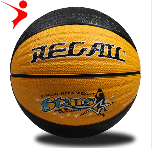 International Standard 7 size Rubber Basketball Corrugated Color Basket Adult Indoor Outdoor Sports Basketball